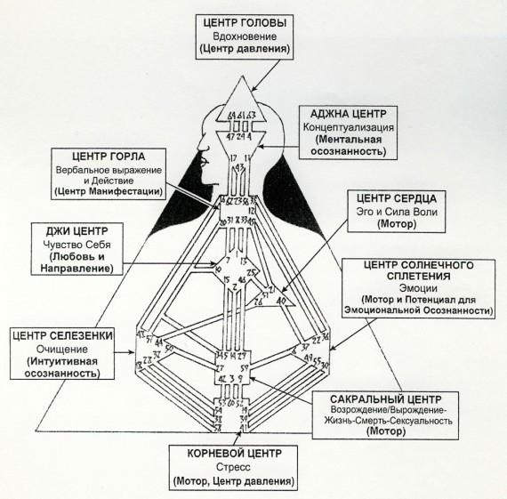 Дизайн человек рассчет карты